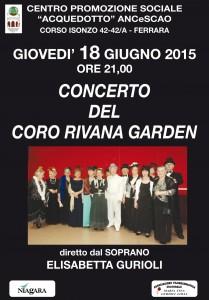 Gurioli-Coro Rivana al Centro Acquedotto