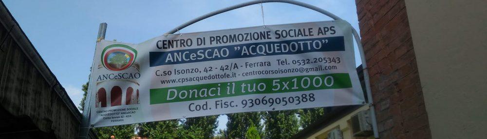 Centro Acquedotto APS ANCeSCAO